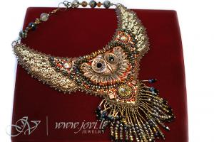 Awesome beaded Owl