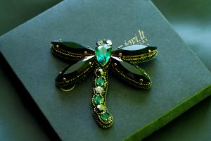 BEAUTIFUL EMERALD DRAGONFLY II